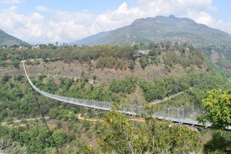 सञ्चालमा आयो बागलुङको लामो पुल