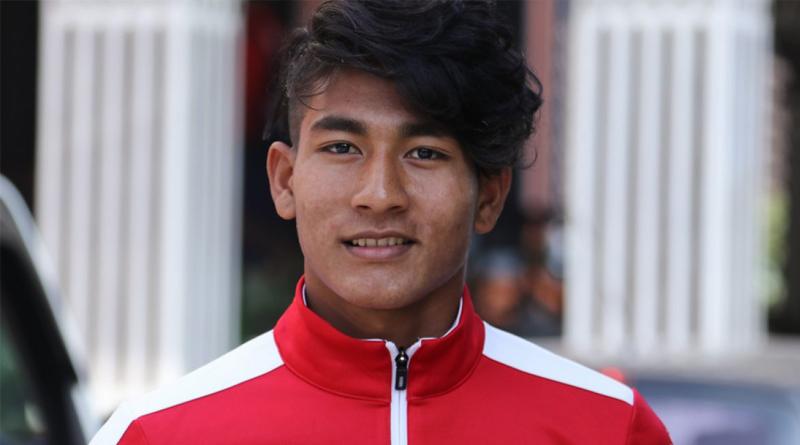 नेपाली फुटबल खेलाडी राजेश परियारले भारतीय क्लबबाट खेल्ने