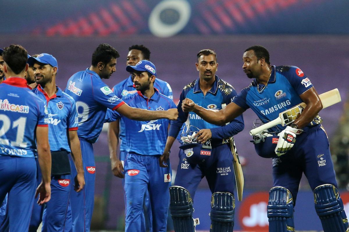दिल्लीलाई ५ विकेटले हराउँदै मुम्बई इन्डियन्स लिग तालिकाको शिर्ष स्थानमा