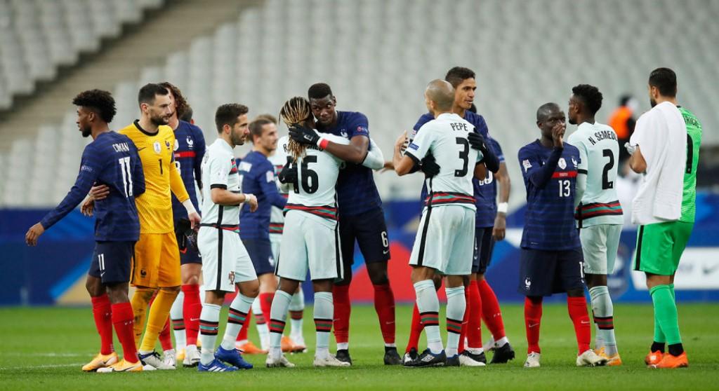 इंग्ल्यान्डले बेल्जियमलाई हराउदा फ्रान्स र पोर्चुगल बराबरीमा रोकिए