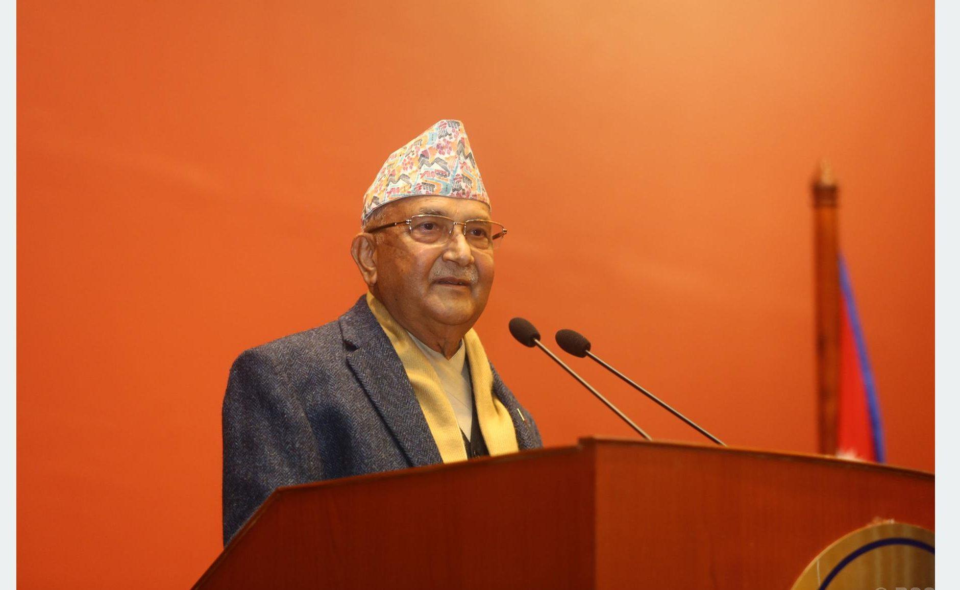 माधव नेपाललाई पार्टीमा ठाउँ छैन : अध्यक्ष ओली