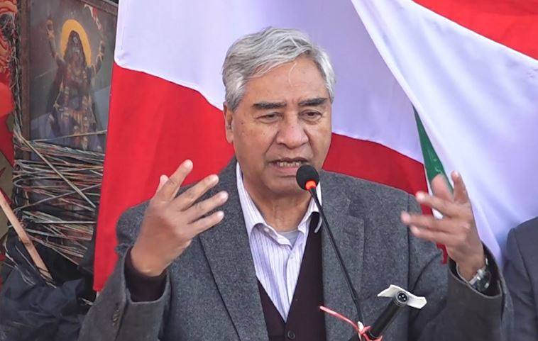 नेपाली कांग्रेस चुनावमा जान तयार छ : सभापति देउवा
