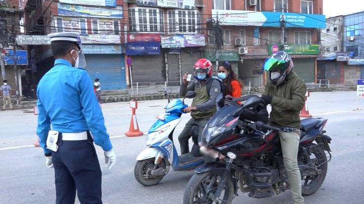 निषेधाज्ञा उल्लंघन : एक हजार सवारी साधन प्रहरी नियन्त्रणमा