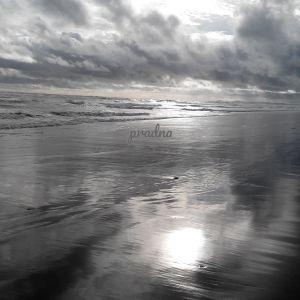 fotografi senja di pantai