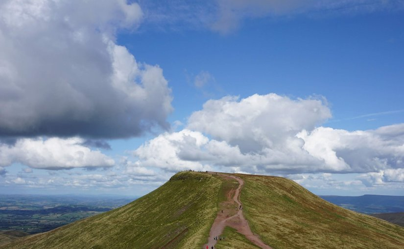 Corn Du and Pen y Fan in Wales
