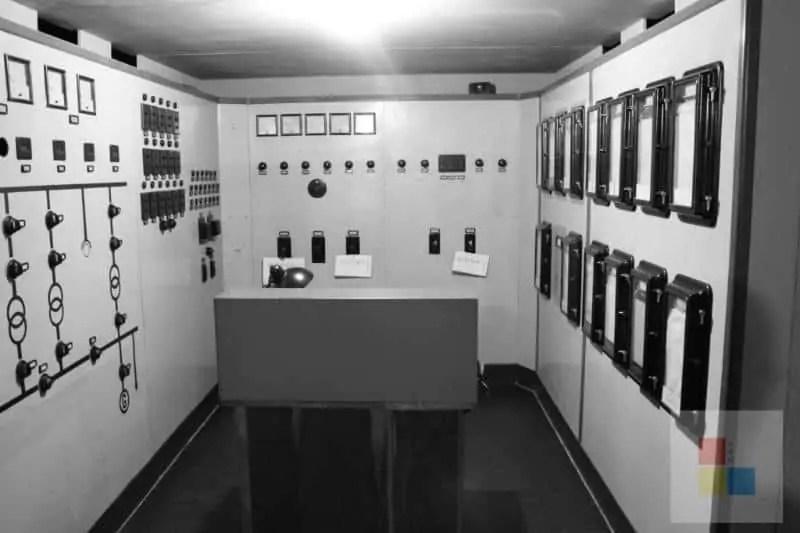 Schaltzentrale im Mausoleum