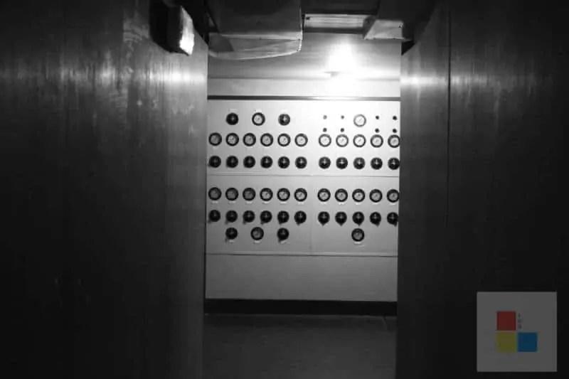 Kontrolle im Mausoleum