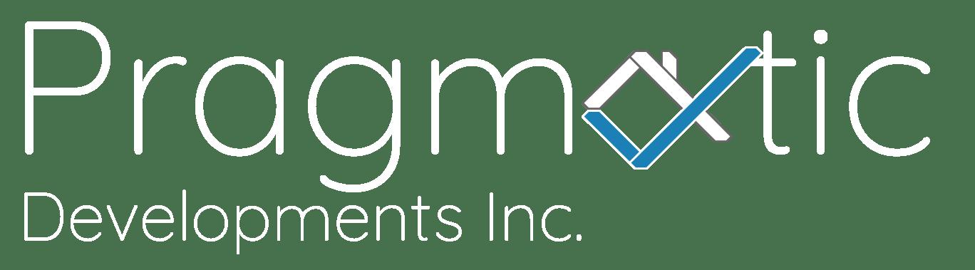 Pragmatic Developments Inc Logo main page white