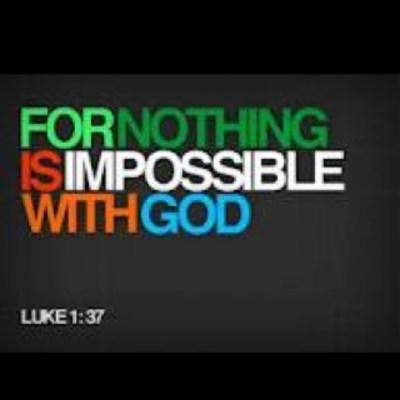 Luke 1 37