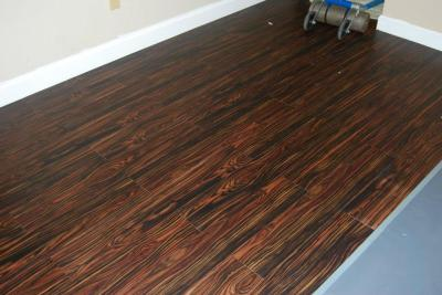 flooring after four hours