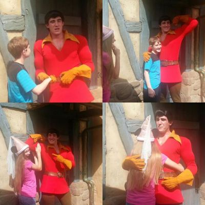 PinkGirl and JackSnoopyScuttle with Gaston