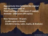Pragmatic Faith Manuscripts Span of Years