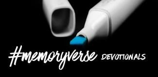 #memoryverse Devotionals