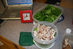 Wannabe Salad Assembled