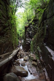The Flume Gorge.