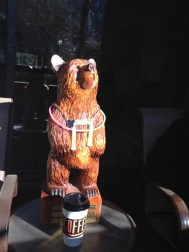 And stole our coffee in the morning. Bears. Sheesh.