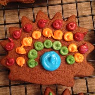 This was my favorite cookie. Rainbow hedgehog.