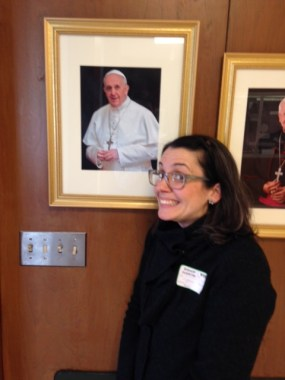 Me and the Pope!