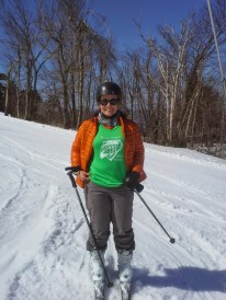Sporting my Summit for Life shirt.
