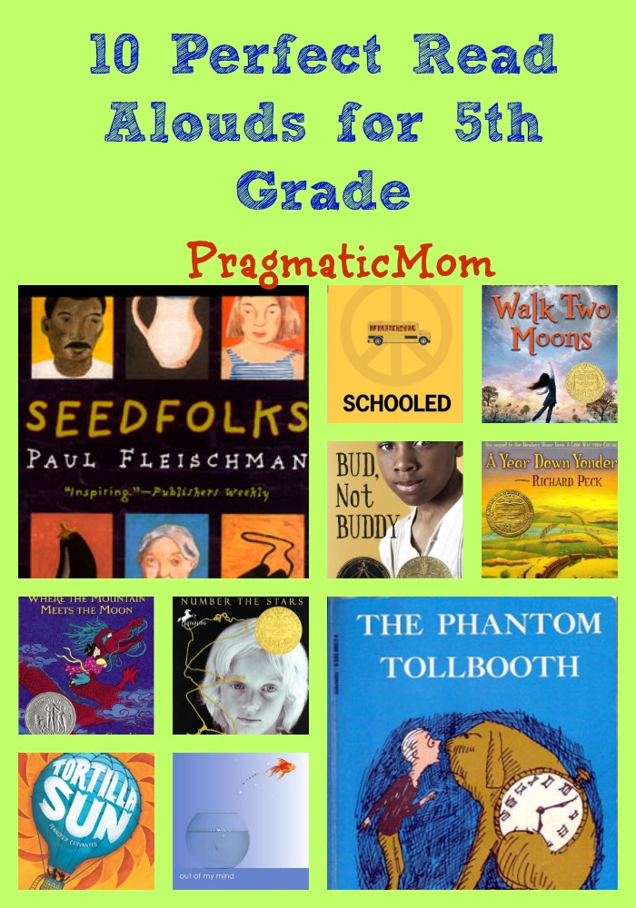 10 Perfect Read Alouds For 5th Grade Pragmaticmom