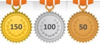 150 Books Read Medal