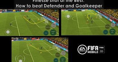 Finesse shot the best | How to beat the defender and Goalkeeper | How to score goal from Corner box