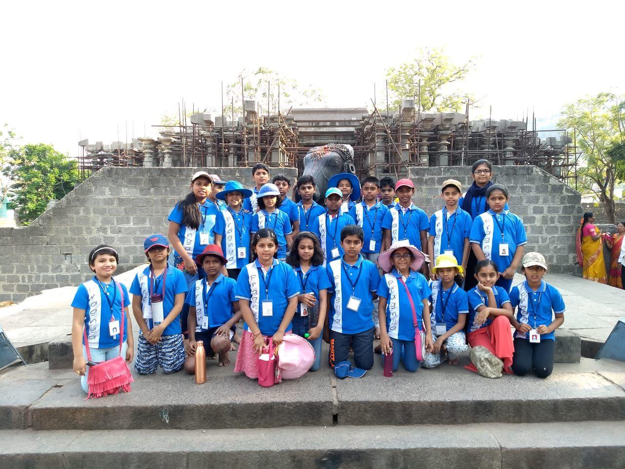 Upper Elementary students' fun filled trip to Warangal
