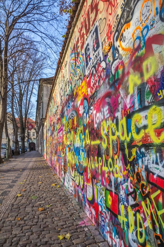 John Lennon Wall  Prague Tourist Information