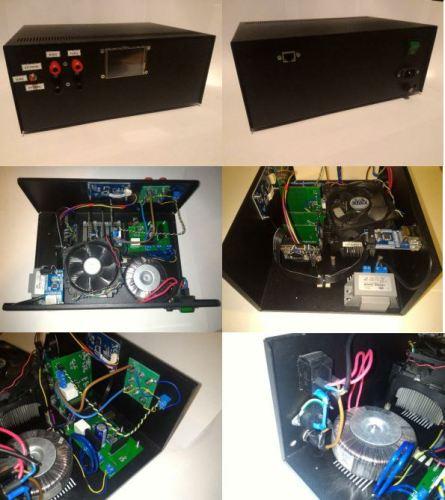 Laboratorní zdroj a generátor
