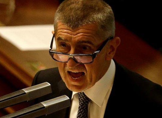 Czech Prime Minister Andrej Babis