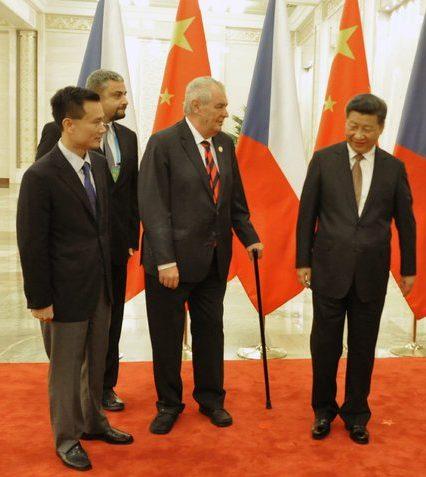 Milos Zeman Ye Jianming Xi