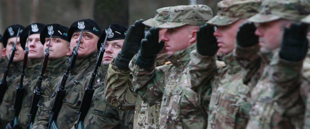 Polish and US Troops