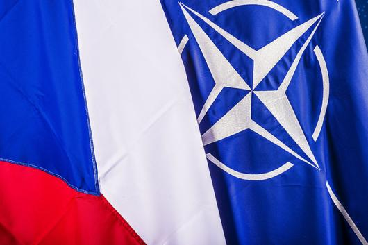CZECH NATO FLAGS