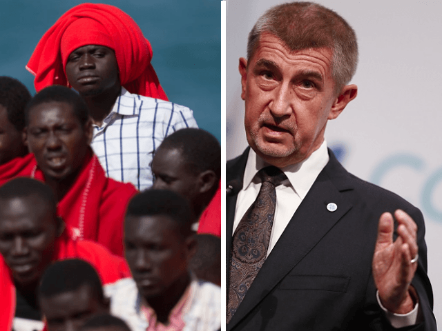 Andrej Babis Migrants
