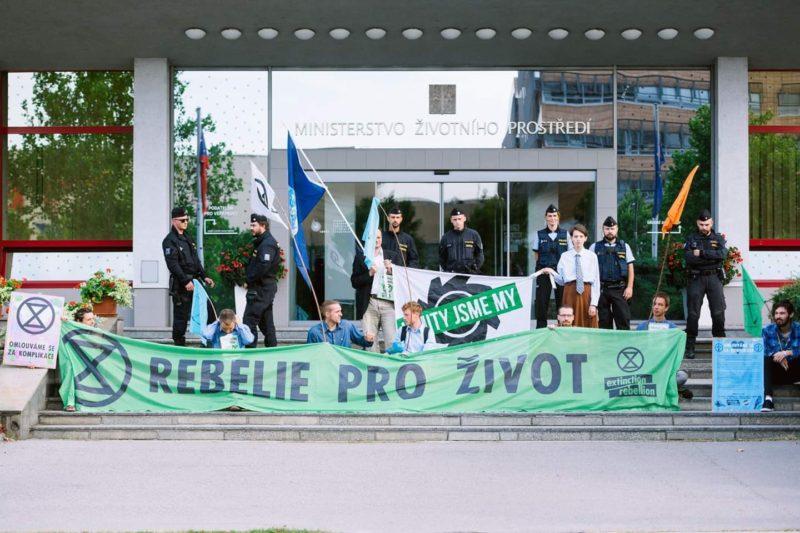 Extinction Rebellion CR Coal Commission