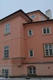 Prague in pink