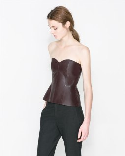 Face it- you NEED this leather bustier
