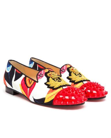 Christian Louboutin brings snazz back to loafers
