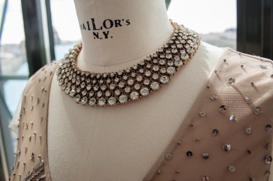 Statement jewellery is a total do! / Photo Credit: Benjamin Vales