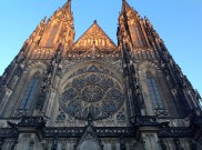 Prague Castle; western frontage of St. Vitus Cathedral