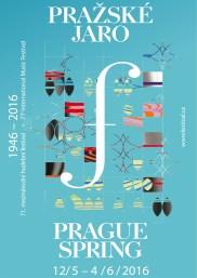 official poster of Prague Spring Festival