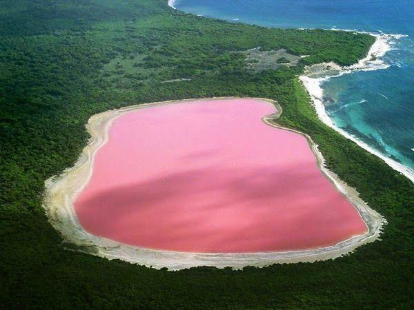 Lake Hillier Rosa
