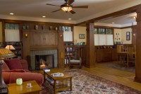 New Craftsman Bungalow living room | PrairieArchitect