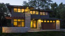 Oak Brook Residence Prairie Architect West Studio