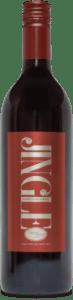 A bottle of Jingle wine.