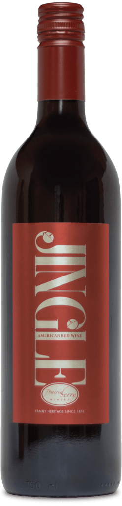 A bottle of Jingle wine.