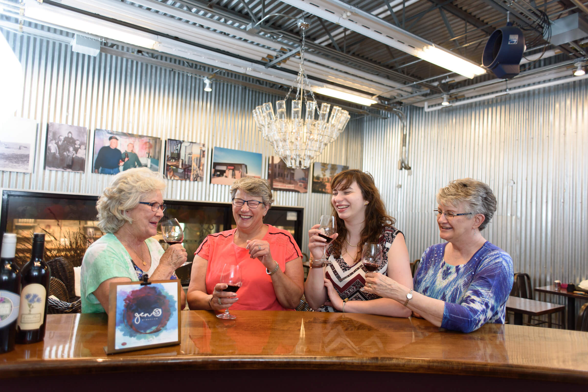 Access to the Gen5 Wine Club Lounge at Prairie Berry Winery—including no rental fee to host your event—is one of the perks of joining the Gen5 Wine Club.