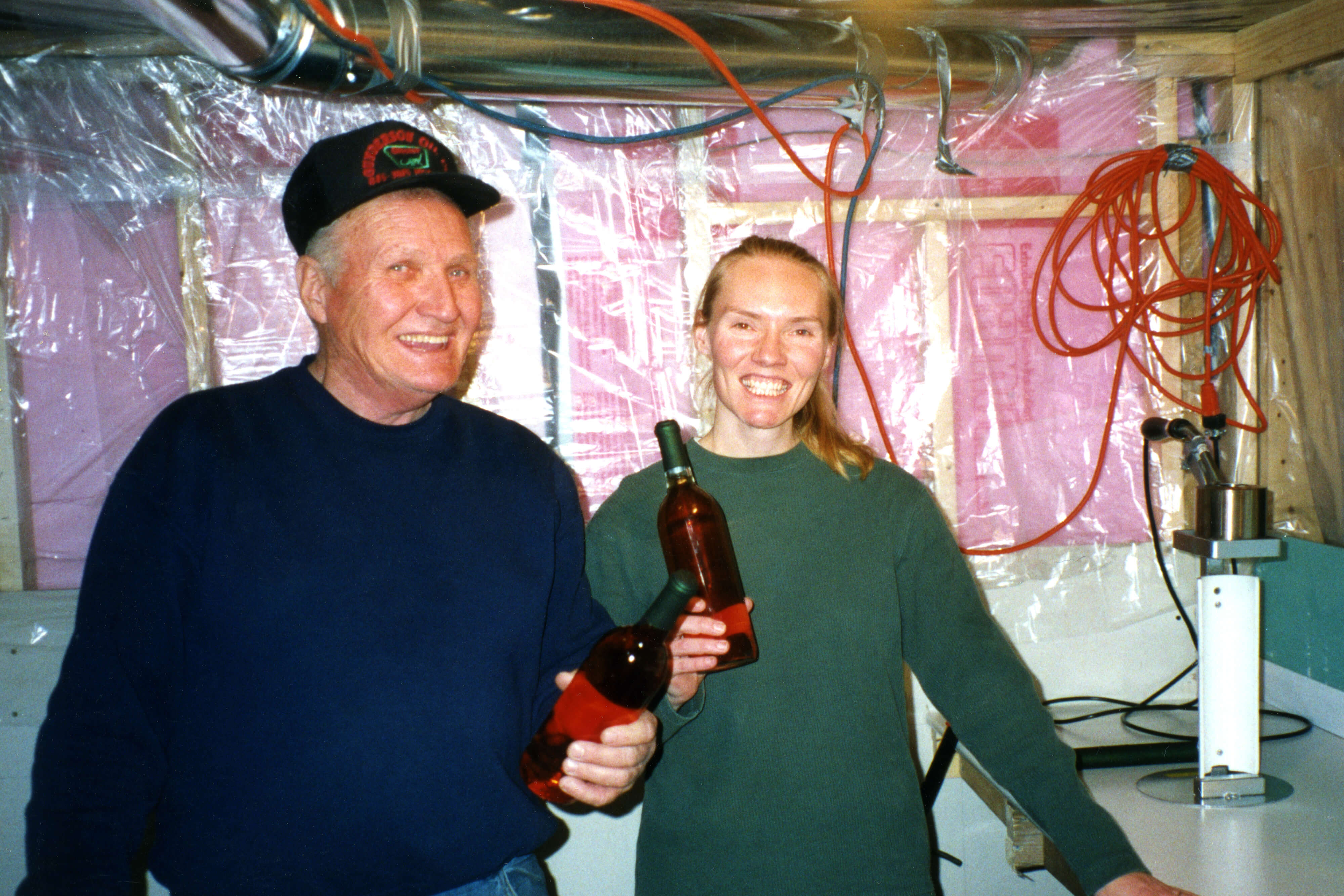 Sandi Vojta, her husband, Matt Keck, and her father, Ralph, started Prairie Berry Winery in Mobridge, S.D., in 1999.