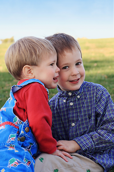 Kieran and Keegan