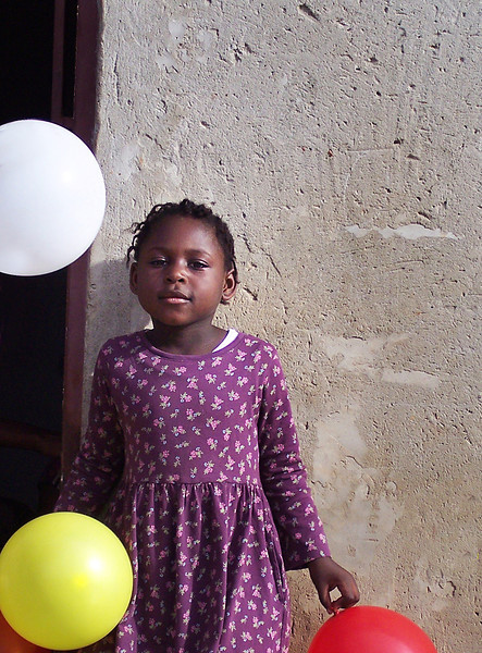 Kiffanie's Not Sure About Ken Yet, But She Likes the Balloons